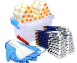 Kit d'outil d'accueil, Mini-rouleau à peindre des couvertures, rouleau à peindre, Pinceau