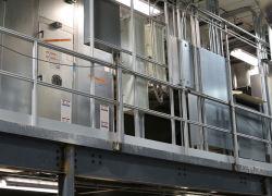 Fabricante de extrusão de alumínio 2019 Quente Corrimão de Vendas para portas Windows e no andar térreo