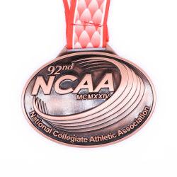 Fabricante Lote Personalizado Promoção fundição de liga de zinco de alta qualidade Marathon executando Medalha desportivo