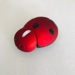 Беспроводная мышь мультфильмов, творческий дар мышь USB, Милая Beetle форма мыши