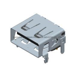 SVHC European Union Standard Component Electricical Socket USB Version 2.0 ( SVHC 欧州連合規格コンポーネント電子ソケット USB バージョン 2.0 ) コネクタ 4 ピン基板スペア部品