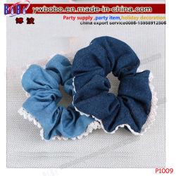 De elastische Band van het Haar van het Embleem van de School van de Toebehoren van het Haar van Headwear van de Banden van het Haar Kantoorbehoeften Aangepaste (P1009)