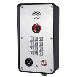 RFID vídeo Doorphone Knzd-52V IP Phone