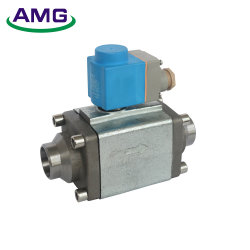 アンモナルフッ素は冷却剤の液体、抱負または熱いガス・パイプラインで使用されたソレノイド弁をサーボ作動させた