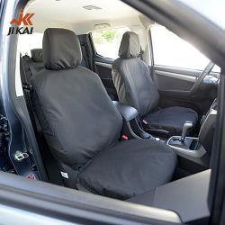 Siège de voiture amovible couvre le coton intérieur en plein jeu super voiture bon marché universel noir mat de siège