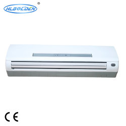 Haut Mur, type fendu ventilateur monté sur unité de bobine à utiliser avec refroidisseur à eau ou de la pompe à chaleur système HAVC