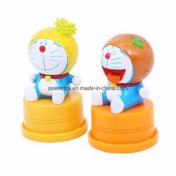カスタムプラスチックゴム製自己の子供のためのスタンプのおもちゃにインクをしみ込ませているインクがしみ込むスタンパのプラスチック自己