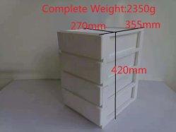 Cajón de plástico de segunda mano usados de molde molde gabinete