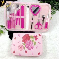 Лак для ногтей средства обслуживания розовый цветок великолепные новые маникюр,