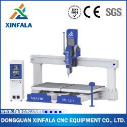 Double Tables Carving Machineの5つの軸線CNC Router