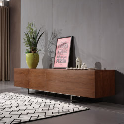 北欧のホーム家具の現代居間木TVのベンチ/TV表
