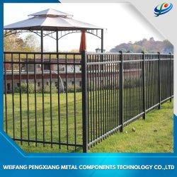 Puder-überzogene Aluminiumzaun-Sicherheit/Garten-/bearbeitetes Eisen-/Swimmingpool-Schutz /Steel, das für Landhaus/Garten/Wohnhaus ficht