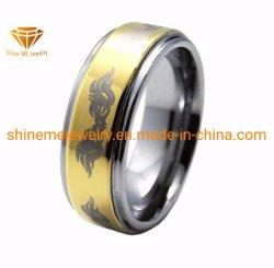Орган высокого качества ювелирных изделий Gold покрытие лазерный вольфрам украшения (TSTG025)