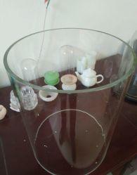 Glasrohr Aus Hochfestem Borosilikatglas Hochtemperaturbeständiges Glasrohr
