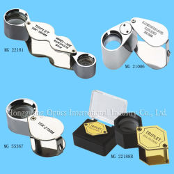 LED Jewellers Magnifier met LED Lamp
