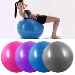 L'équilibre Salle de Gym Fitness PVC Yoga la bille anti-balles de rafale