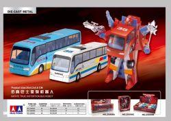 Diecast Transforming Bus