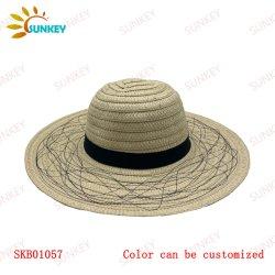 2021 nova coleção best-seller Sade Sol Chapéu de Palha Verão protecção UV Dobrável Viagens Caçamba a bordo rasante Hat Vintage Cloche Beach Tampa de Pesca