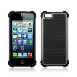 Линии дизайн Combo защитник телефон чехол для iPhone 5 (TX-Combo0020)