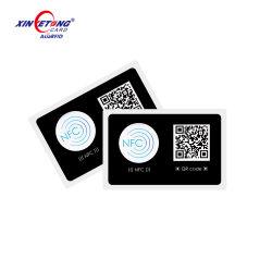 13.56Мгц Hf Nttag213 бумага без содержания ПВХ чип NFC RFID метка на наклейке Tag