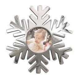 زينة زجاجية مطلية باليد من زجاج عيد الميلاد