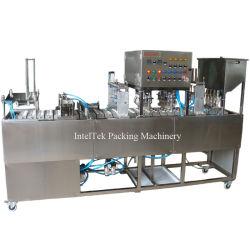 [غف-4] آليّة معدنيّة صافية ماء [يوغرت] فنجان يغسل يملأ [سلينغ] غطّى آلة