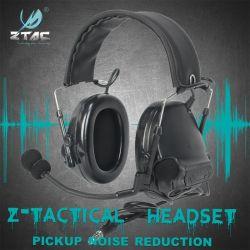 Z-Tac Peltor Comtac III Tactical headphones actieve ruisonderdrukking Headset U94 PTT voor Walkie-Talkie Softair Z051