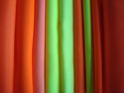 Высокая видимость цветной ткани защитной одежды
