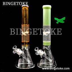 Binetoke Produttore Recycler Oil Rig Beaker tutti i tipi di vetro Fumanti