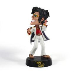 L'uomo su ordinazione Michael Jackson di musica dei mestieri della resina Bobble le teste per il ricordo dei regali della decorazione