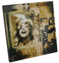 Impressão de papel Placa moderno Art- Retrato Marilyn Monroe (TP09-0055-B)
