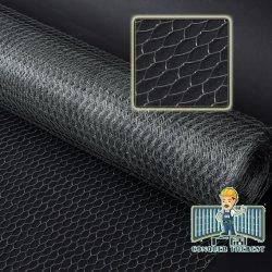 亜鉛メッキ PVC コーティング六角ワイヤメッシュ / ネット加工( Anjia-115 )
