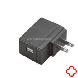 UL/cUL 60601 Стандартный универсальный разъем USB на стену дорожного зарядного устройства 12W 5V 9V 12V 24V медицинских переключение режима питания AC адаптер постоянного тока