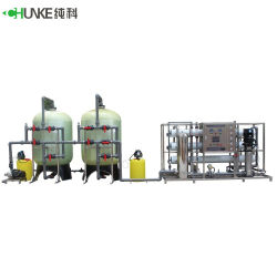 La purificazione di acqua dell'impianto di per il trattamento dell'acqua del depuratore di acqua del sistema del RO da 10000 litri lavora la strumentazione alla macchina di trattamento delle acque
