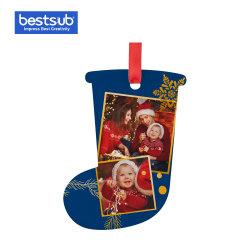 Bestsub Sublimation Produkte Personalisierte Wohndekoration Geschenk Acryl Weihnachtsbaum Ornamentakxh06