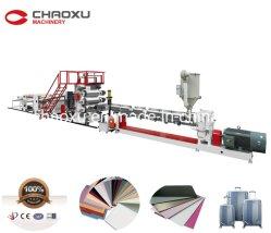 Folhas de plástico do Extrusor da linha de produção/Máquina de Fazer/máquinas de extrusão