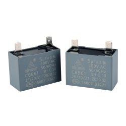 Cbb61 천장 팬 AC Sh 콘덴서/모터 시동/모터 실행(터미널 포함 450V