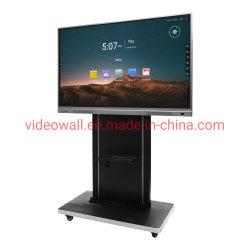"""I5 Computer des Prozessors OPS interaktiver Touch Screen des weißen Vorstands des androiden 8G Speichers des RAM 32G 85 """""""