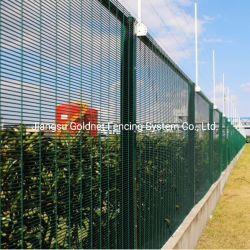 La prison de la corrosion de l'huile Anti-Climbing Jardin de la prison de chemin de fer métal soudé en acier galvanisé de Wire Mesh Systèmes de sécurité élevé 358 clôture Panneau de compensation d'Escrime