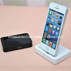 Cuna de sincronización de la Estación Base Dock Cargador de escritorio para el iPhone 5 5G (OT-26)