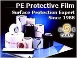 PE película de enmascarar adhesiva de protección de la superficie (DM-011).