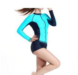 """شكل الجسم للنساء"""" بدلة ركوب الأمواج S Lycron وطبع رقمي قمة الغطس (722)"""