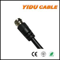 Verbinder-Koaxialitäts-Koaxialkabel des Fabrik-Preis Fernsehapparat-Antennen-Verbinder-Kabel-75ohm RG6 F