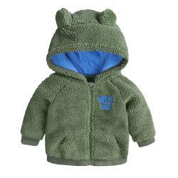 Il bambino caldo spesso di inverno della tuta sportiva del rivestimento dei vestiti dei bambini scherza i cappotti