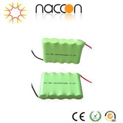 Naccon recarregáveis AA de 1800mAh alta temperatura 12V Ni-MH / Bateria Cilíndrica Industrial NiMH