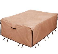 100% 방수 실외 식탁 및 의자 커버