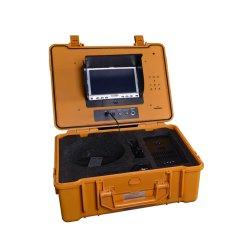 Fabrik geben 60m-120m CCTV unter Wasser-Rohrleitung Drainsewer Endoscope-Endoskopiekontrolle-Kamera mit Messinstrument-Kostenzähler und DVR an