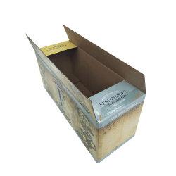 Pack de 24 bouteilles de bière boîte en carton<br/> ondulé 330ml de vin d'expédition des transporteurs de papier