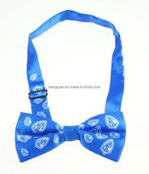Soie Polyester le filtre Bow Tie pour garçon motif imprimé coloré Design personnalisé