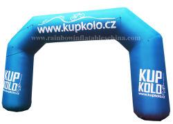 Erstaunlicher heißer Verkauf kundenspezifische Eingangs-aufblasbare Bogen-Reklameanzeige